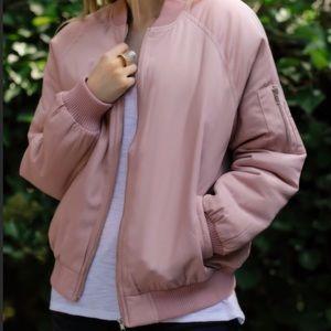 💗💗Blush Bomber Jacket. Large